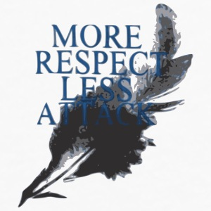 More Respect Less Attack Accessories - Men's Premium Long Sleeve T-Shirt