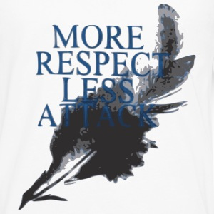 More Respect Less Attack Sportswear - Men's Premium Long Sleeve T-Shirt