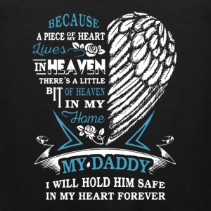Daddy Wing Cover My Heart - Men's Premium Tank