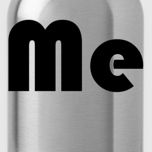 Me Mini Me Parent Kids Father Mother Son Daughter  T-Shirts - Water Bottle