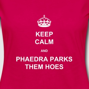 PHAEDRA PARKS THEM HOES - White Print T-Shirts - Women's Premium Long Sleeve T-Shirt