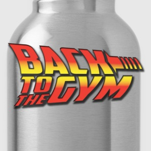 Back To The GYm - Water Bottle