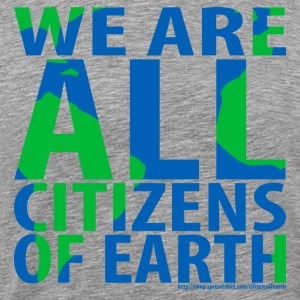 WeAreALLCitizensOfEarth Sportswear - Men's Premium T-Shirt