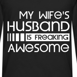 Husband - Awesome - Men's Premium Long Sleeve T-Shirt