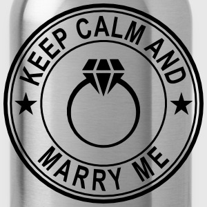 Keep Calm And Marry Me Women's T-Shirts - Water Bottle