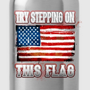 Flag - Step On - Water Bottle
