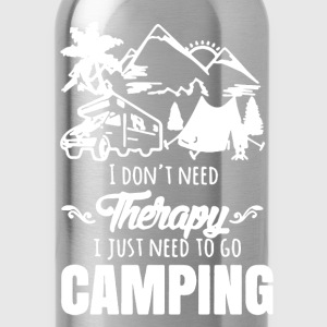 Camping Shirt - Water Bottle