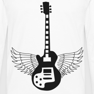 Guitar Prowess at the Crossroads -png T-Shirts - Men's Premium Long Sleeve T-Shirt