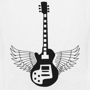 Guitar Prowess at the Crossroads -png T-Shirts - Men's Premium Tank