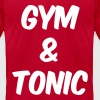 Gym and Tonic T-Shirts - Men's T-Shirt by American Apparel