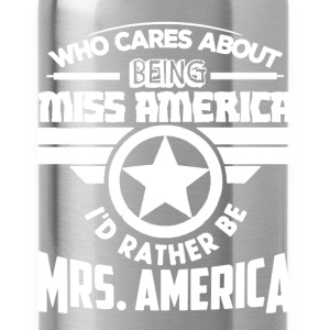 Mrs America Shirt - Water Bottle
