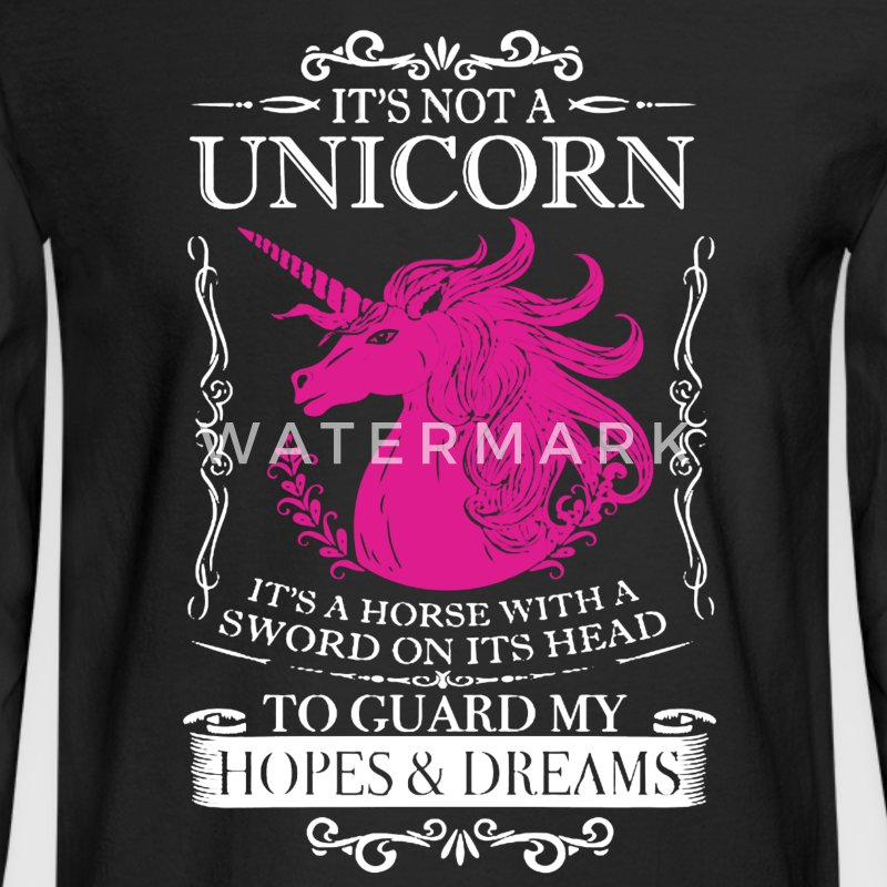 Unicorn Shirt - Men's Long Sleeve T-Shirt