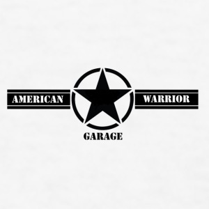 American Warrior Garage Mug - Men's T-Shirt
