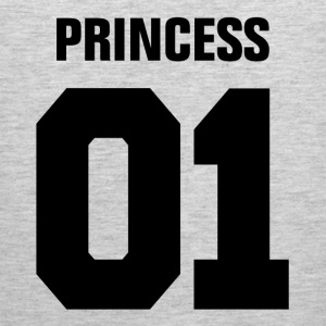 Princess 01 Family Daughter Mother Couple Girl  Baby & Toddler Shirts - Men's Premium Tank