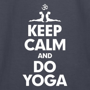 Keep Calm and Do Yoga Hoodies - Kids' Long Sleeve T-Shirt