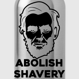 Abolish Shavery T-Shirts - Water Bottle