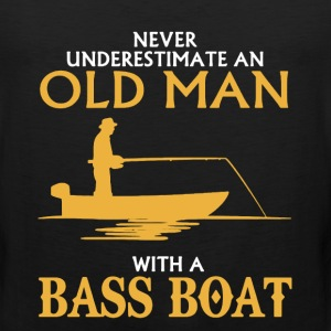 Bass Boat Shirt - Men's Premium Tank