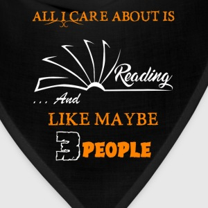 All I Care About Reading - Bandana