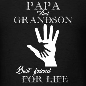 Papa And Grandson - Men's T-Shirt
