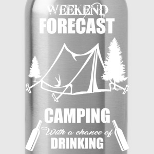 Weekend Forecast Camping - Water Bottle