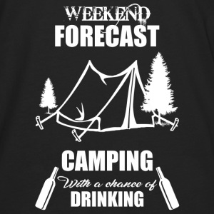 Weekend Forecast Camping - Men's Premium Long Sleeve T-Shirt