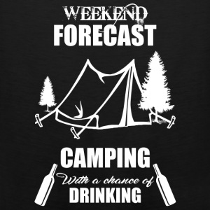 Weekend Forecast Camping - Men's Premium Tank