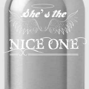 She Is The Nice One - Water Bottle