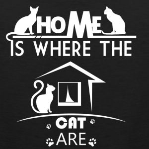 Home Is Where The Cat Are - Men's Premium Tank