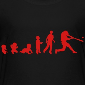 evolution baseball Kids' Shirts - Toddler Premium T-Shirt