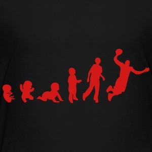 evolution basketball Kids' Shirts - Toddler Premium T-Shirt