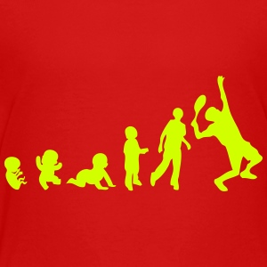 evolution tennis Kids' Shirts - Toddler Premium T-Shirt