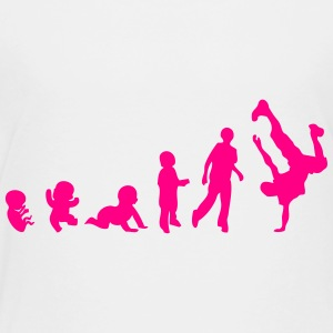 evolution breakdance hip hop 4 Kids' Shirts - Toddler Premium T-Shirt