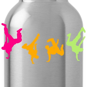 break dance hip hop dancer 1300 T-Shirts - Water Bottle