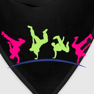 break dance hip hop dancer 1399 Long Sleeve Shirts - Bandana