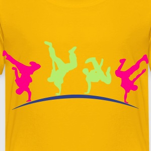 break dance hip hop dancer 1399 Kids' Shirts - Toddler Premium T-Shirt