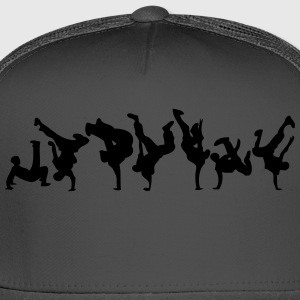 break dance hip hop dancer 1366 T-Shirts - Trucker Cap