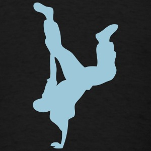 breakdance hip hop dancer 136 Long Sleeve Shirts - Men's T-Shirt
