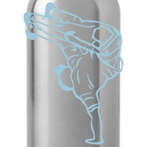 break dance hip hop dancer 1388 Kids' Shirts - Water Bottle