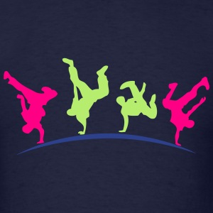 break dance hip hop dancer 1399 Long Sleeve Shirts - Men's T-Shirt