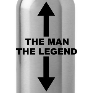 The Man The Legend Women's T-Shirts - Water Bottle