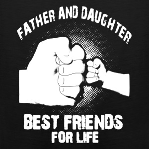 FATHER -DAUGHTER TSHIRT - Men's Premium Tank
