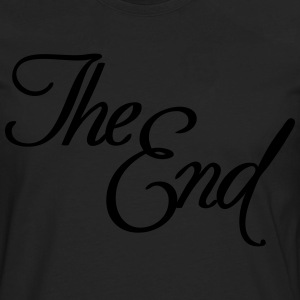 The End T-Shirts - Men's Premium Long Sleeve T-Shirt