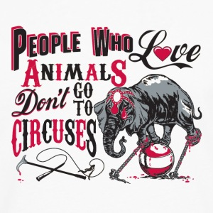 Circus Ele Abuse Tanks - Men's Premium Long Sleeve T-Shirt