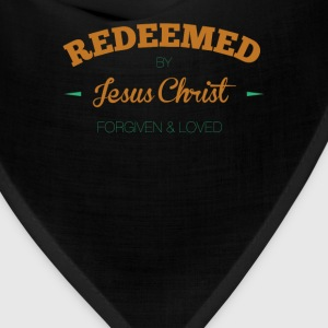 Redeemed-by-Jesus Christ Forgiven and Loved - Bandana