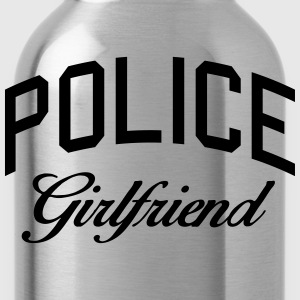 police girlfriend Women's T-Shirts - Water Bottle