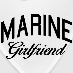 marine girlfriend Women's T-Shirts - Bandana
