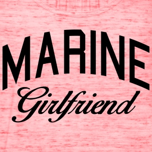marine girlfriend Women's T-Shirts - Women's Flowy Tank Top by Bella