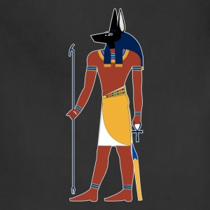 Anubis God of Funeral and Death Ancient Egypt Myth T-Shirts - Adjustable Apron