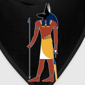 Anubis God of Funeral and Death Ancient Egypt Myth Women's T-Shirts - Bandana