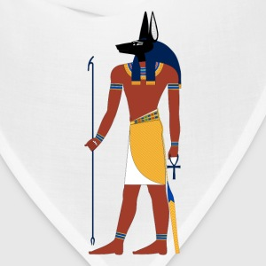 Anubis God of Funeral and Death Ancient Egypt Myth Hoodies - Bandana